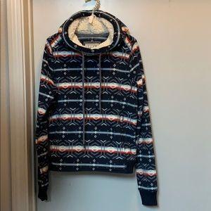 Abercrombie & Fitch Fleece Hooded sweater